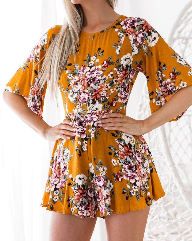 Bucrsatn Darmowa wysyłka 2019 nowy z długim rękawem drukowane kombinezon odzież damska