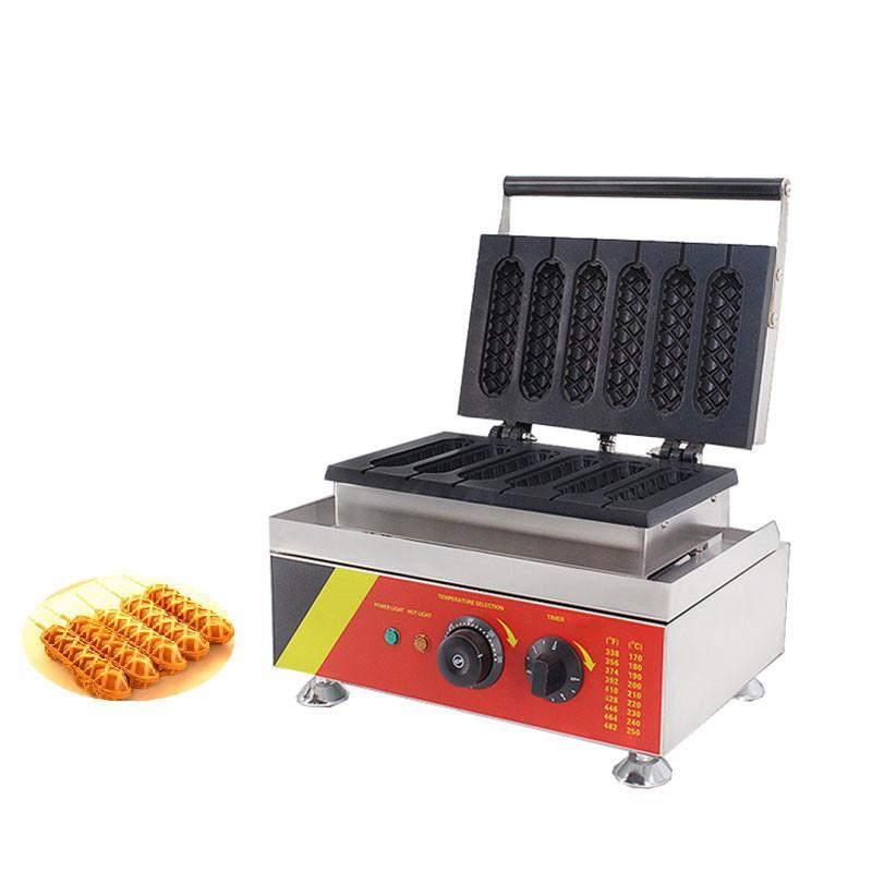BEIJAMEI nuovo arrivo Commerciale Muffin Hot Dog macchina / elettrico Lolly Waffle Maker / Waffle Hot Dog macchina Prezzo