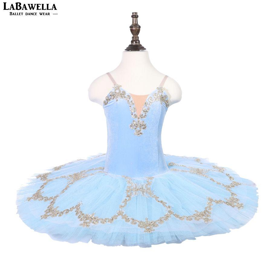 großhandel erwachsene blau schwanensee ballett kostüme mädchen klassische  ballett tutu pre profi tutu mädchen ballerina dressblst18080 von stripe,