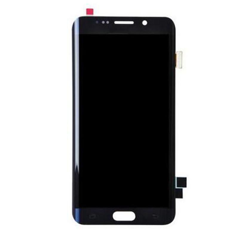 Boa qualidade para o Samsung S6 Edge Plus Painel LCD Dispaly Dispaly Nenhuma tela de toque de quadro com a fábrica de substituição do digitador sem defeito
