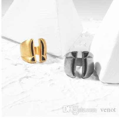 Vintage Cool Silver-color de acero inoxidable anillo de los hombres Sparta Warrior anillos de los hombres Hip Hop punky hombre Finger Biker anillo joyería masculina