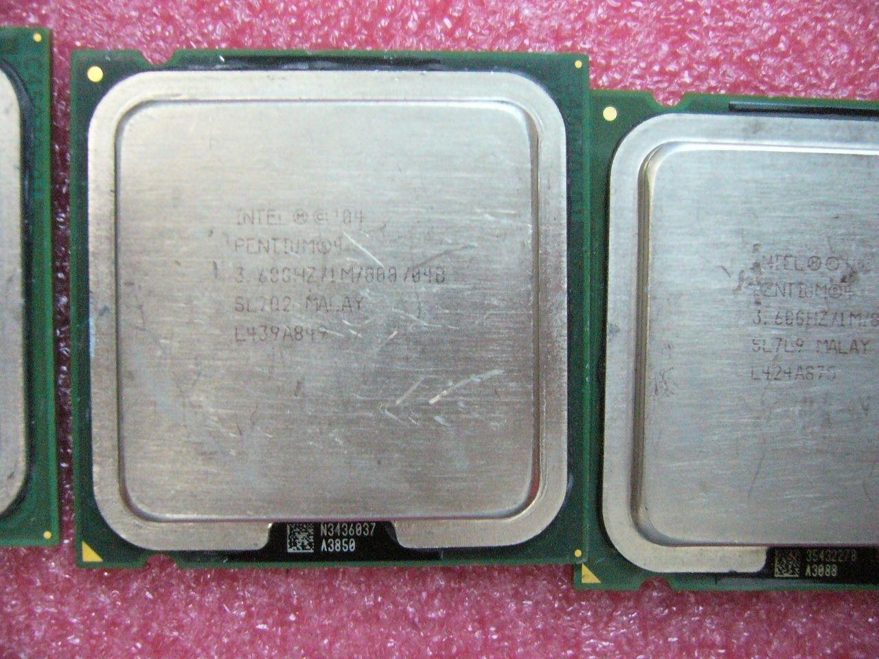 QTY 1x INTEL Pentium 4 CPU 560 3.60GHz 1MB/800Mhz LGA775 SL7Q2 SL7NZ SL7L9