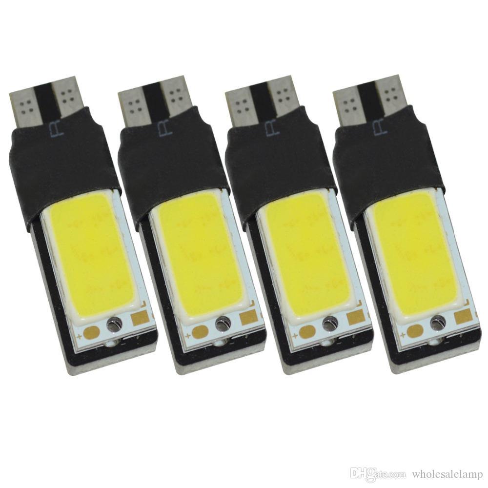 T10 COB LED 194 168 W5W High Quality COB Interior Bulb Light Parking Backup Brake Lamps Cars Auto Led Bulb White 6000k