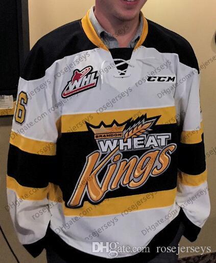 2021 2019 Brandon Wheat Kings Ice Hockey Jersey #9 Ivan Provorov ...