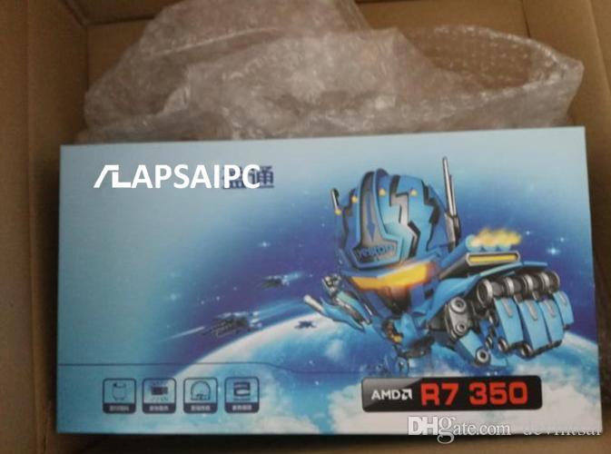 R7 350 4G placa gráfica para Desktop 4G GDDR5 128bit HDMI VGA DVI Suporte 4K