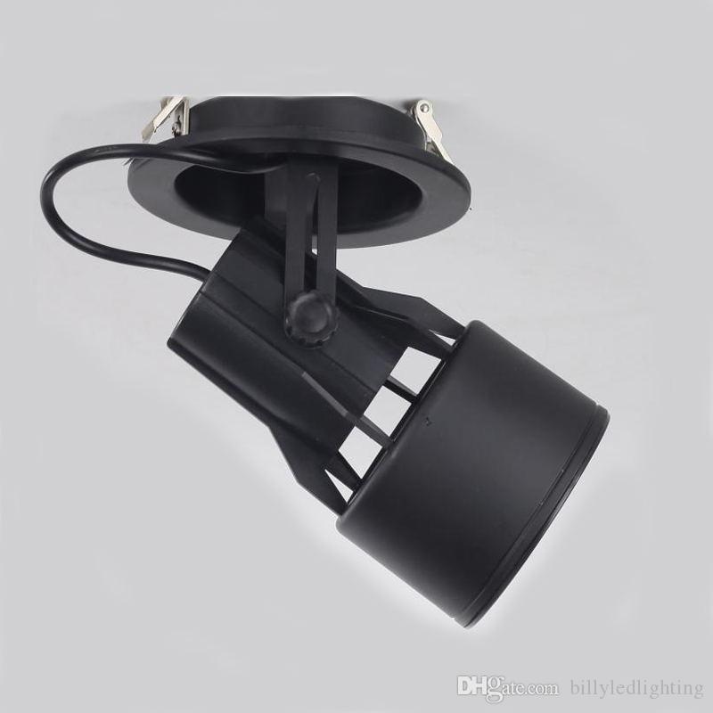 PAR30 E27 traccia vuota traccia di lampada da incasso Installazione guidata dispositivo della lampada riflettori gioielleria luce mall