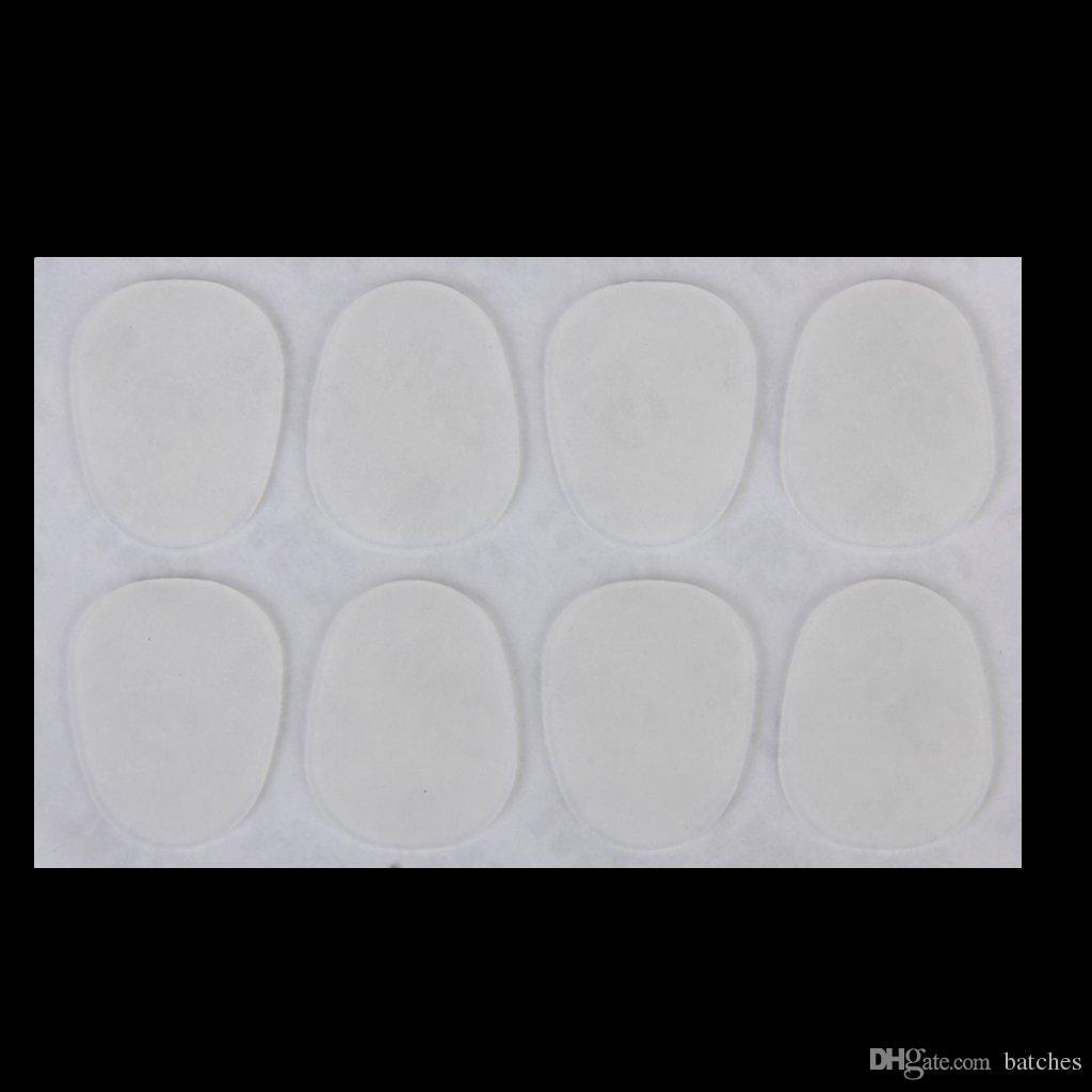 5 PCS of (8pcs Alto/Tenor Sax Mouthpiece Patches Pads 0.8mm---Clear)