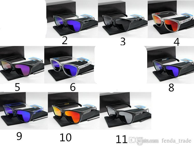 Brand Polarized Sunglasses Hot sale Frog style mirror TR90 Frame cycling sunglasses sports 10 colors HOT freeshipping MOQ=10pcs