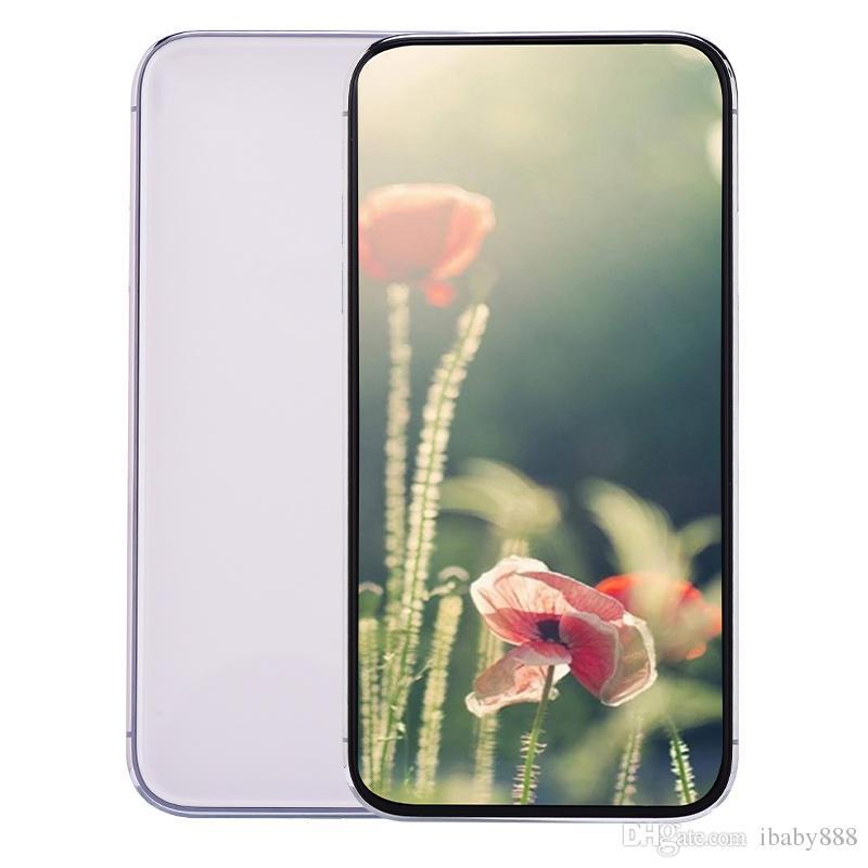 6,5 polegadas ecrã Todas Goophone 11 Pro Max V3 face ID sem fio Encargo Quad Core 1GB 16GB + 32GB dual Nano cartão SIM GPS 3 Câmeras Smartphone Verde