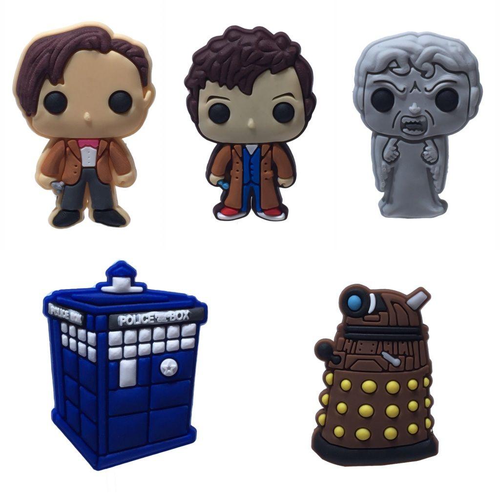 Doctor Who Frigorífico Ímãs Criativos Dos Desenhos Animados PVC Decoração de Casa Ímãs de Geladeira Adesivos Blackboard Crianças Presentes Frete Grátis