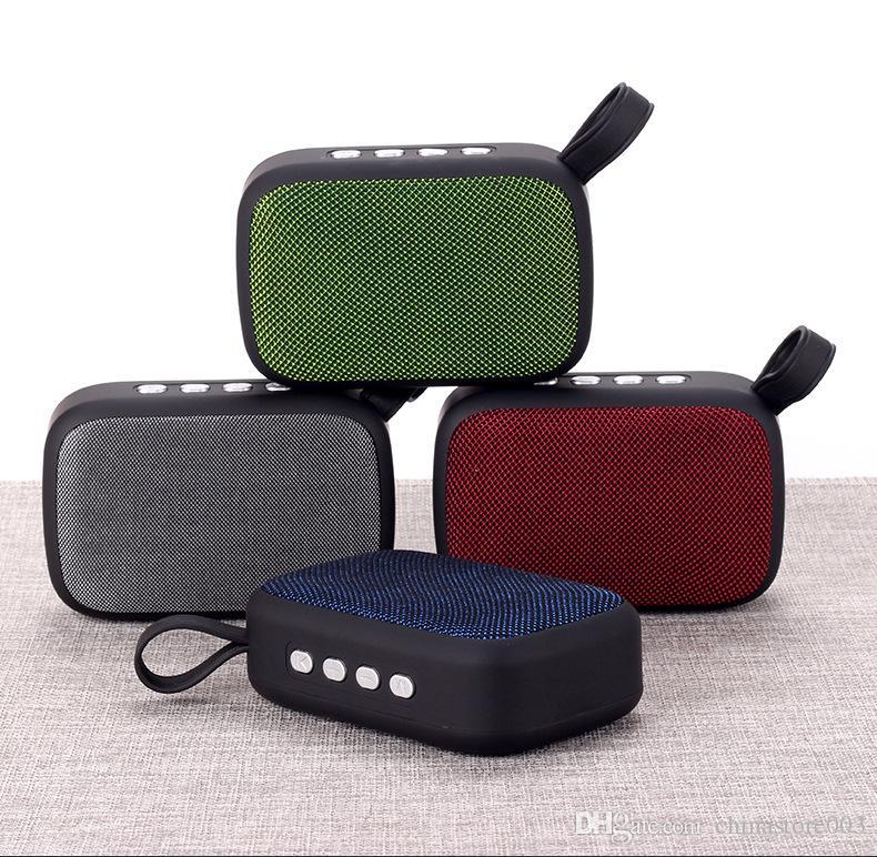 Mini Altoparlante Bluetooth senza fili Subwoofer Radio FM Picnic all'aperto Party Beach Altoparlanti HiFi portatili economici di buona qualità Ampio suono ad alto volume