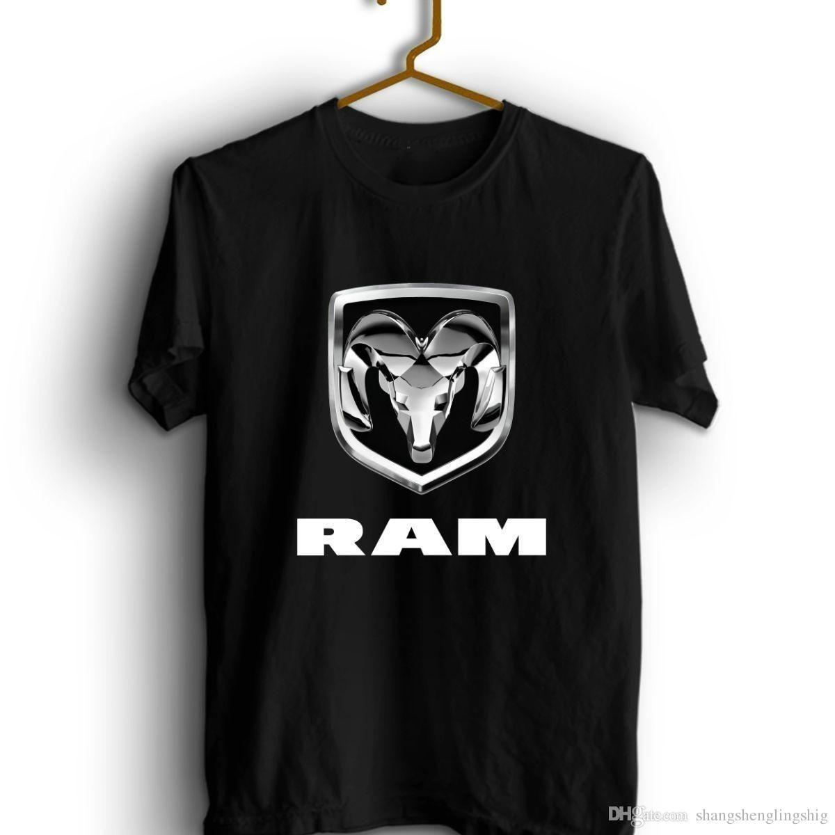 New Sun Dodge Ram Truck Desig Logo T Shirt