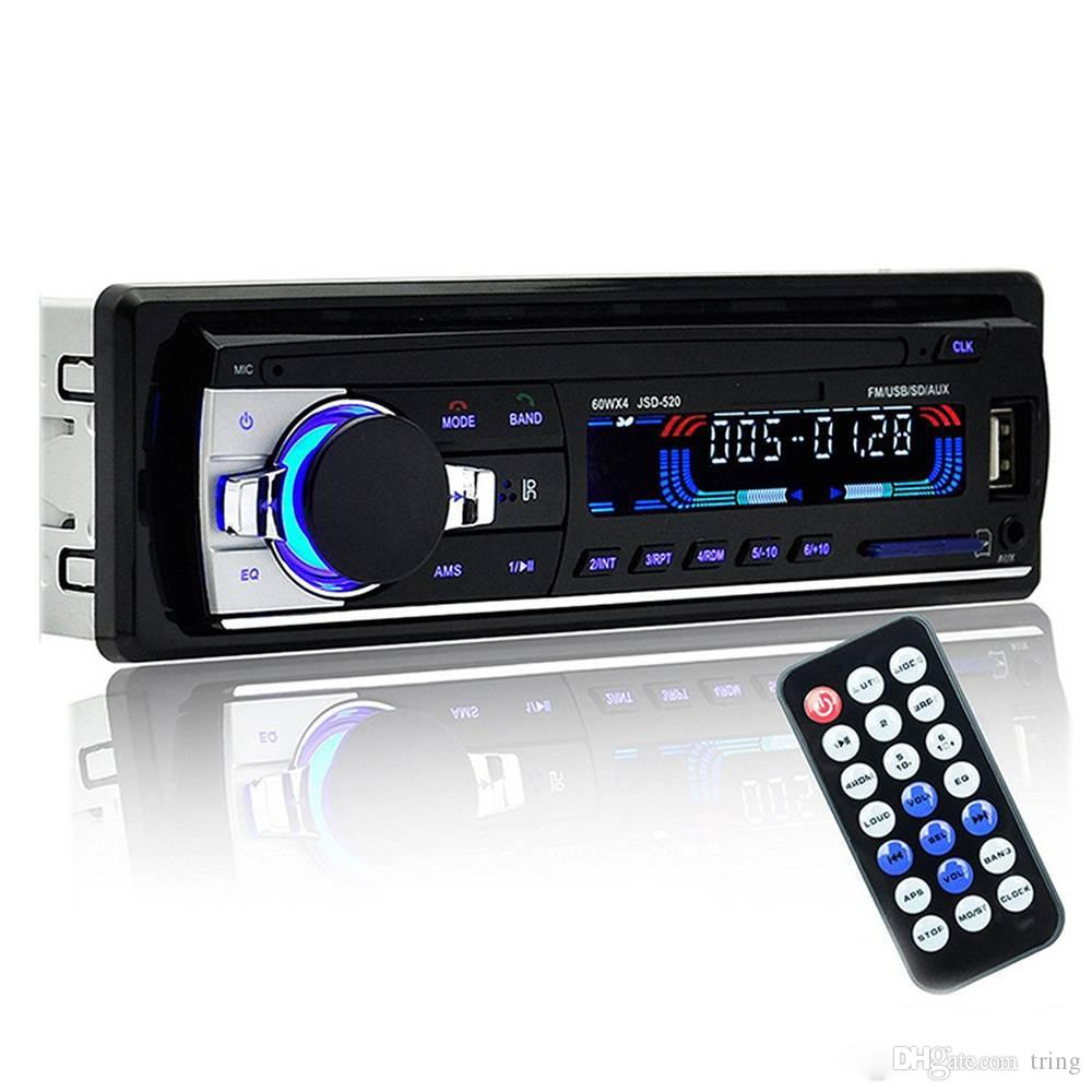 12V Car Stereo Bluetooth car DVD Multimedia Player MP5 Audio Player Phone USB/TF Radio In-Dash 1 DIN