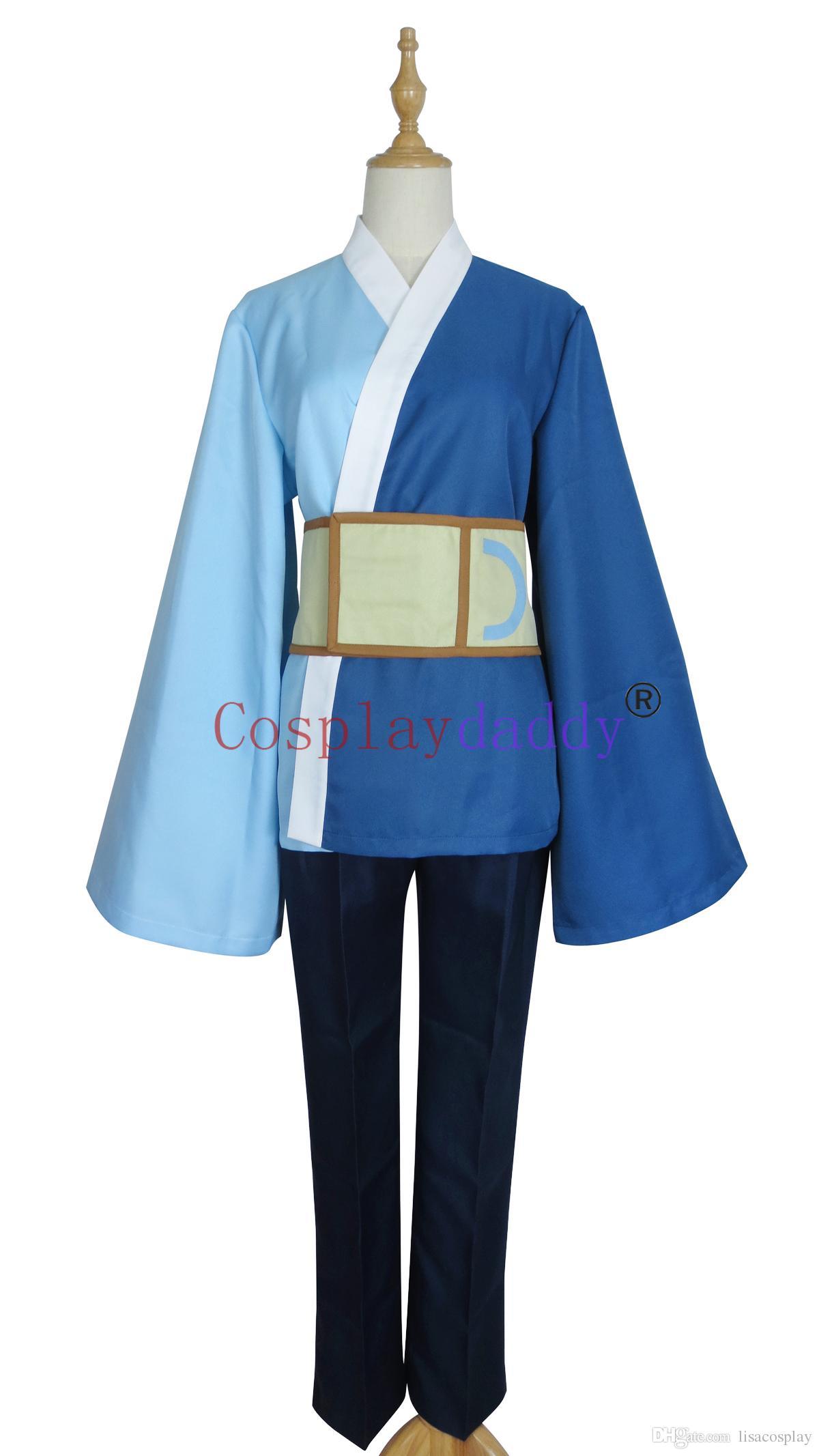 Anime Boruto: Naruto the Movie Cosplay Son of Orochimaru Mitsuki Halloween Kimono Costume