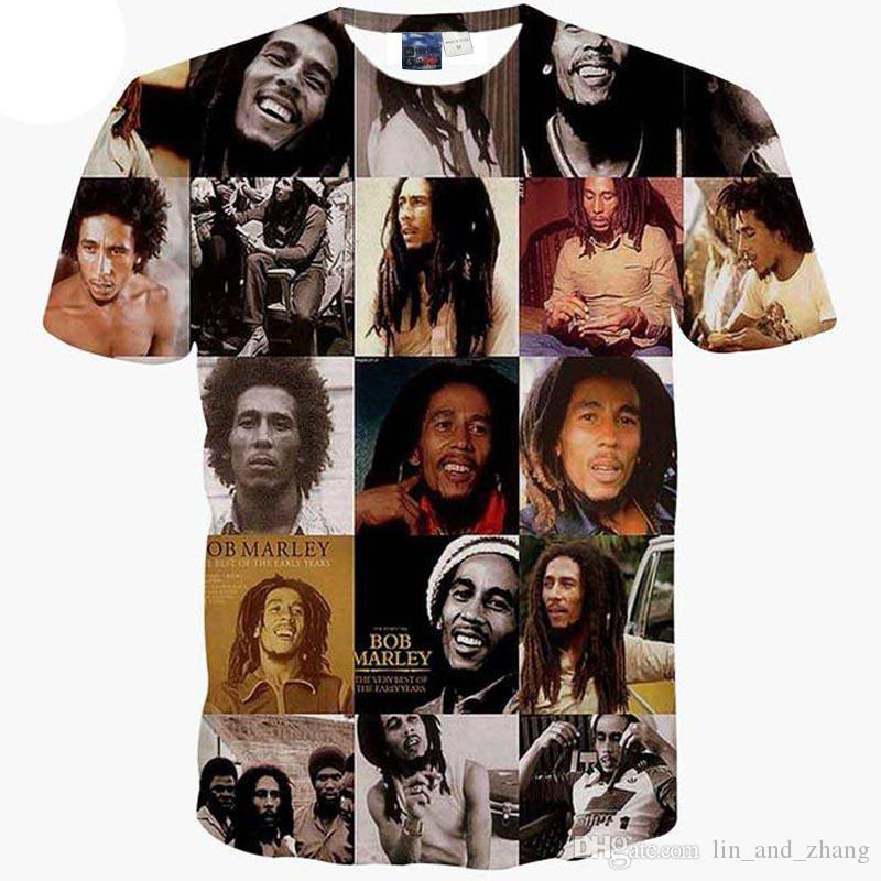 3D T Shirt Yeni Hip Hop T Shirt erkekler 3d tshirt için Tupac 2PAC baskılı tees tops RAP Hippi rahat t-shirt