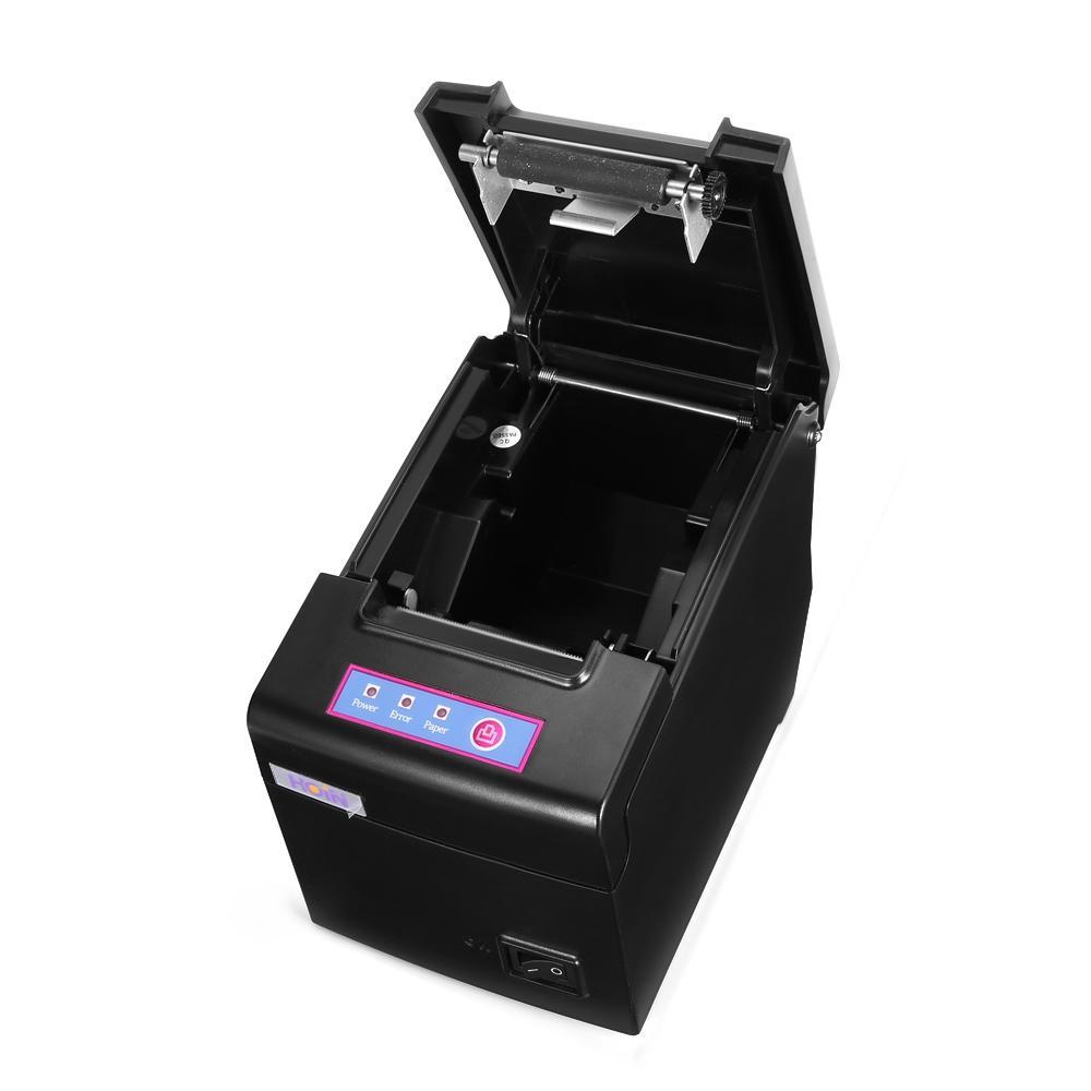 HOIN USB واي فاي الحرارية استلام الطابعة النقدية استلام الطابعة 58MM POS أداة الطباعة 130MM / S لالروبوت IOS