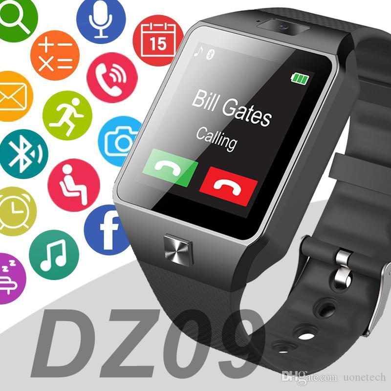 DZ09 smart watch watches smartwatch MTK610 DZ09 montre intelligente reloj inteligente with high quality battery