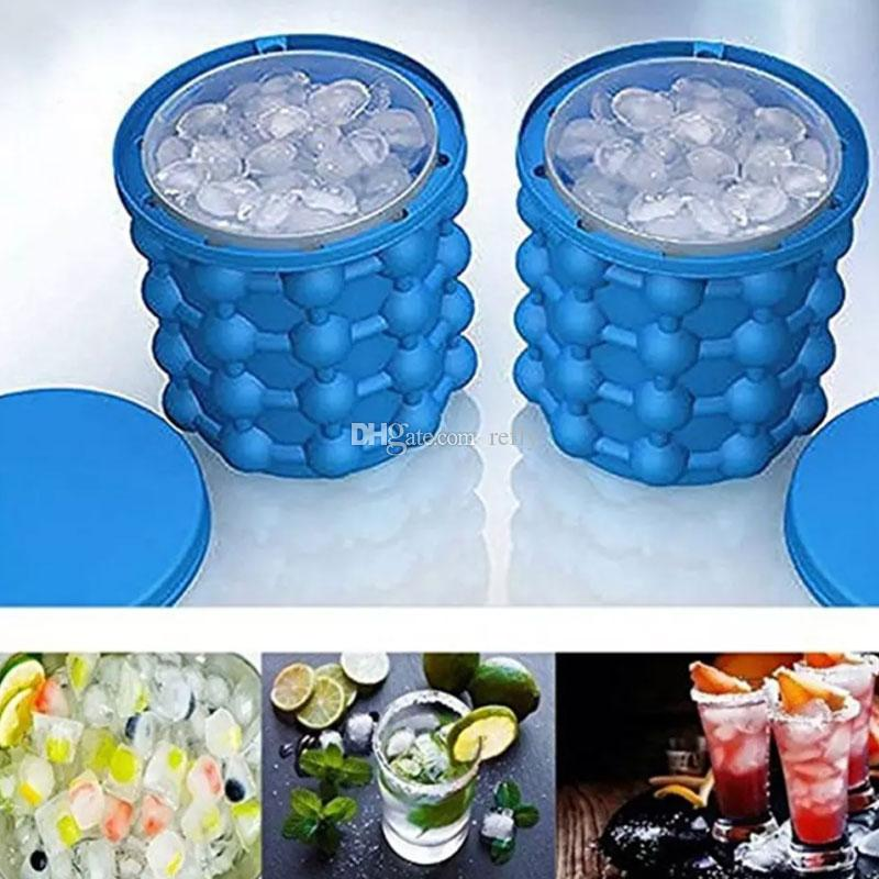Ice Cube Maker Ice Genie The Revolutionary Space Saving Ice Cube Maker Kitchen Tools Outdoor irlde Cube Genie