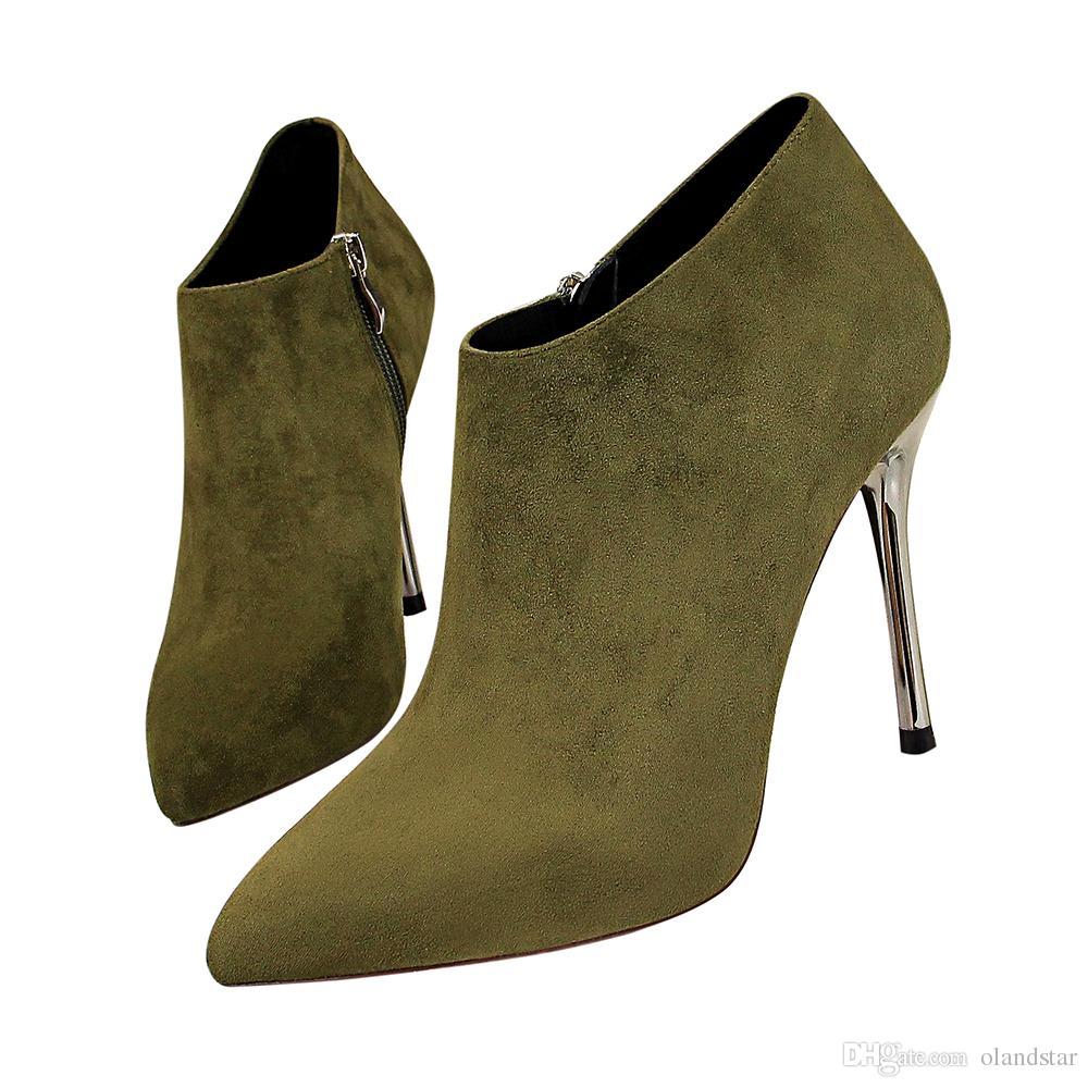 Compre Sexy Clubwear Lady Boot Pumps Zapatos De Vestir Zapatos De Tacón  Alto Festival Fiesta Zapatos De Boda Tacones Formal Pumps Mujeres Tacones  Botines GWS583 A 30,88 € Del Olandstar   DHgate.Com