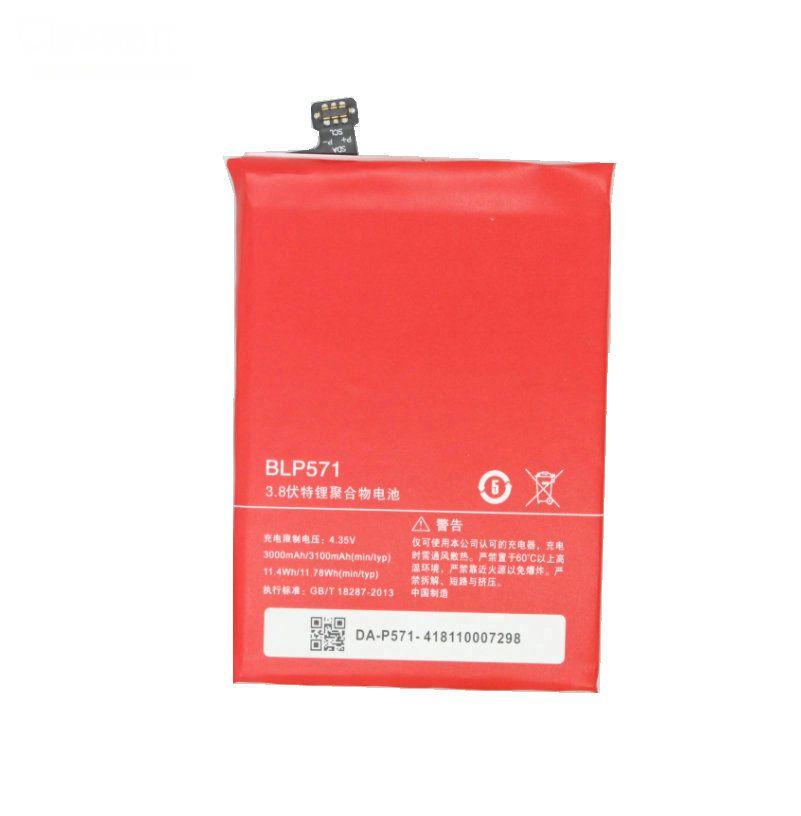 1x 3000 mAh BLP571 ONEPLUS Için Yedek Li-Polimer Pil 1 + Bir artı 64 GB 16 GB Piller Piller Batterij