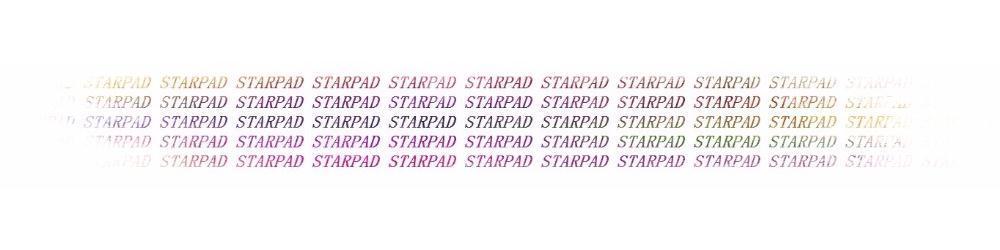 LOGO STARPAD_car