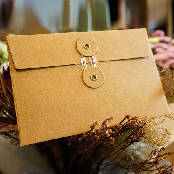 Dicke Kraftpapier Umschläge 17x11,5 cm Datei Ordner Organizer Expanding Dokument Halter Tasche mit Schnur Krawatte Schließung Bürobedarf