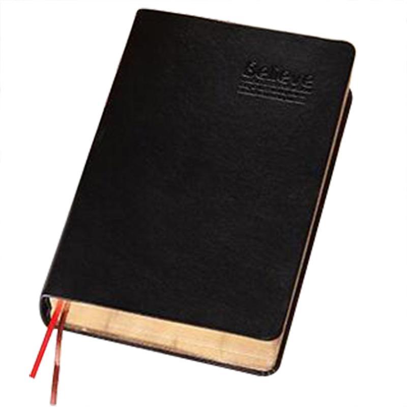 Caderno De Papel grosso do vintage Notepad Couro Livro Diário Diário Revistas Agenda Planejador Escola Escritório Papelaria Suprimentos (Ouro)