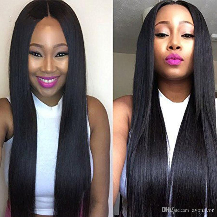 150% Density Straight Lace Front Human Hair Wigs For Black Women Pre Plucked With Baby Hair Brazilian Remy Hair Wig FZP70