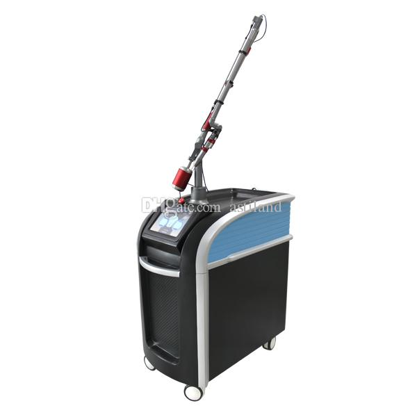 2020 new beauty machine professional korea guiding arm 1064nm 532nm 755nm picosecond laser q switched nd yag laser tattoo removal machine
