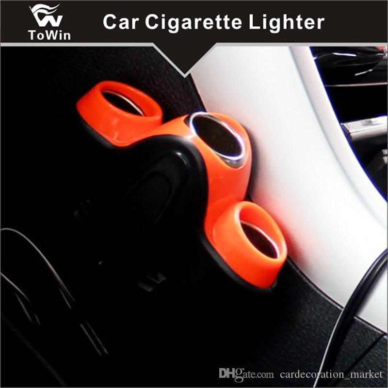 Multifunctional Car intelligent Socket Charger USB and Cigarette lighter,Multi-function Quick Charge Suitable for Various Cars Vehicles.