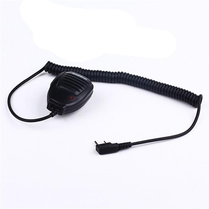 Original Portable Baofeng Speaker MicMicrophone Dual PTT for CB Two Way Radio UV-82 UV-82L UV-8 UV-8D UV-89 Walkie Talkie (1)