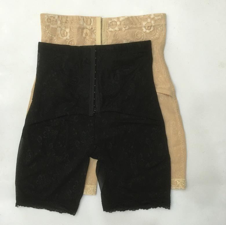 Size 3xl -5XL Waist & Tummy Shaper Tummy Control Shaper Girdle Pants Mesh High Waist Shorts Slim Body Lift Shape Leg Panty Underbust A870