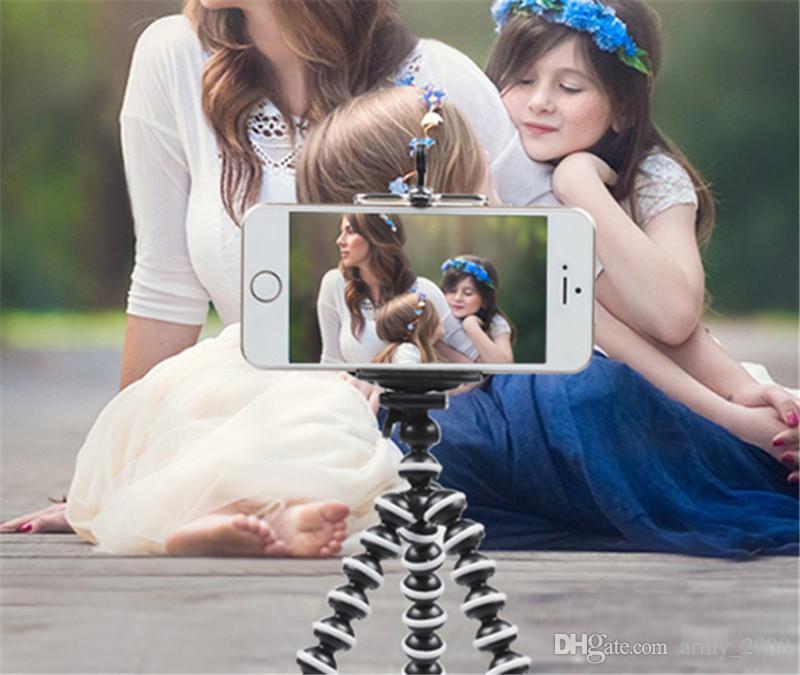 Большой Универсальный Осьминог MINI Штатив Стенд Гибкие Штативы Gorillapod Stander для Камеры iPhone 6 6S Samsung Android Phone