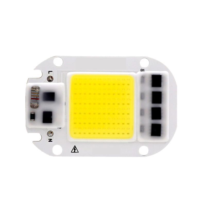 الصمام البوليفيين رقاقة 50 واط 30 واط 20 واط 110 فولت 220 فولت الذكية ic لا حاجة سائق إدخال عالية شمعة رقاقة ل diy led الكاشف الأضواء ضوء الخرز