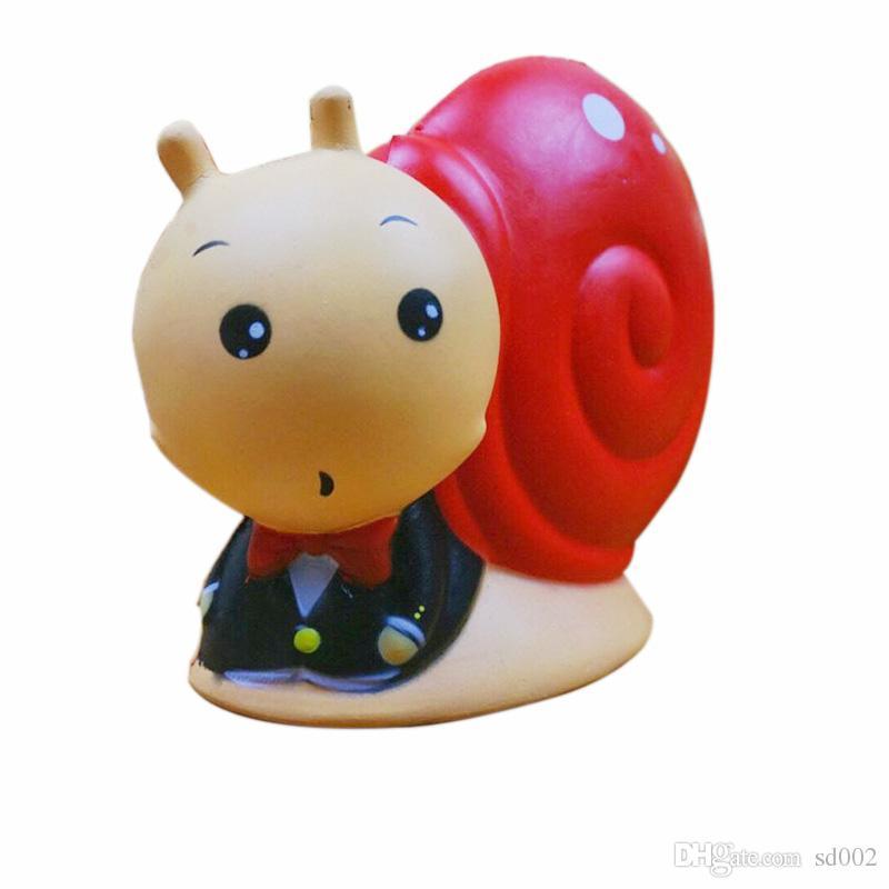 Simulação PU Squishies Animal Caracol Forma Lento Rising Squishy Kawaii Crianças E Brinquedos de Presente Para Crianças Venda Quente 25ym CB