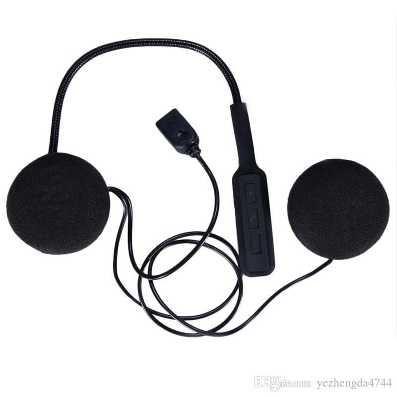 Hands Free Music Call Control Mic Earphone Black Motorcycle Helmet Headset Bluetooth 4 0 Dual Stereo Speakers Hot Sale Walkie Talkie With Earpiece Wireless Walkie Talkie From Yezhengda4744 16 45 Dhgate Com