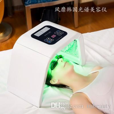 Profissional-Grau Terapia de Luz 7 cores Photon Máquina de Cuidados Com A Pele Facial Rejuvenescimento Photon Tratamento Salon Spa Equipamentos de Beleza