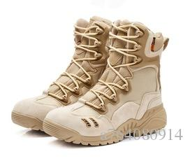 Brand Men Army Military Boots US Special Forces Tactical Desert Combat Boots Outdoor Hiking Shoes Snow Boots