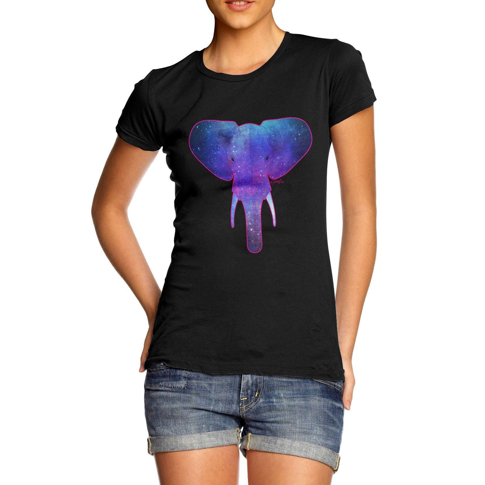 Compre Camiseta De La Mujer Camiseta De Algodón Con Estampado De ...