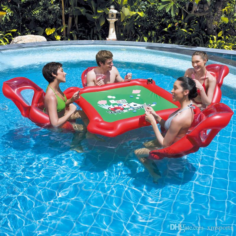 2019 Inflatable Water Toys Children Adult Swimming Pool Water Inflatable  Floating Row Game Table Floating Bed Water Toys From Xmsports, $81.91 | ...