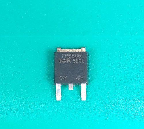 Kostenloser Versand IRFR5505 FR5505 TO-252 P-Kanal -55V-18A echter Original-Transistor