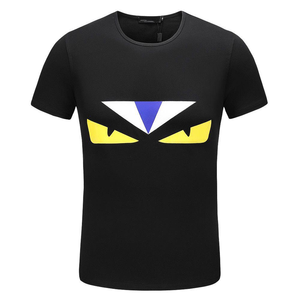 2018 neue Winter Männer T-Shirt Kurzarm 100% Baumwolle Poloshirt Shirt Männer Teel Designer Herren T-Shirts