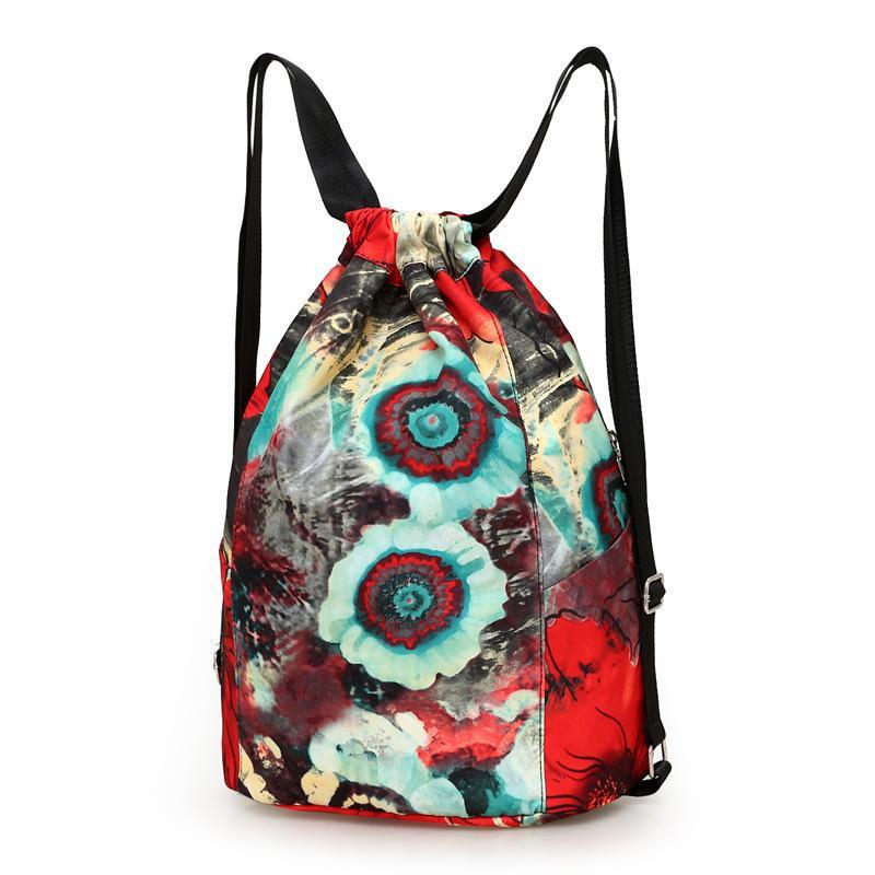 Cat Space Drawstring Backpack Rucksack Shoulder Bags Training Gym Sack For Man And Women