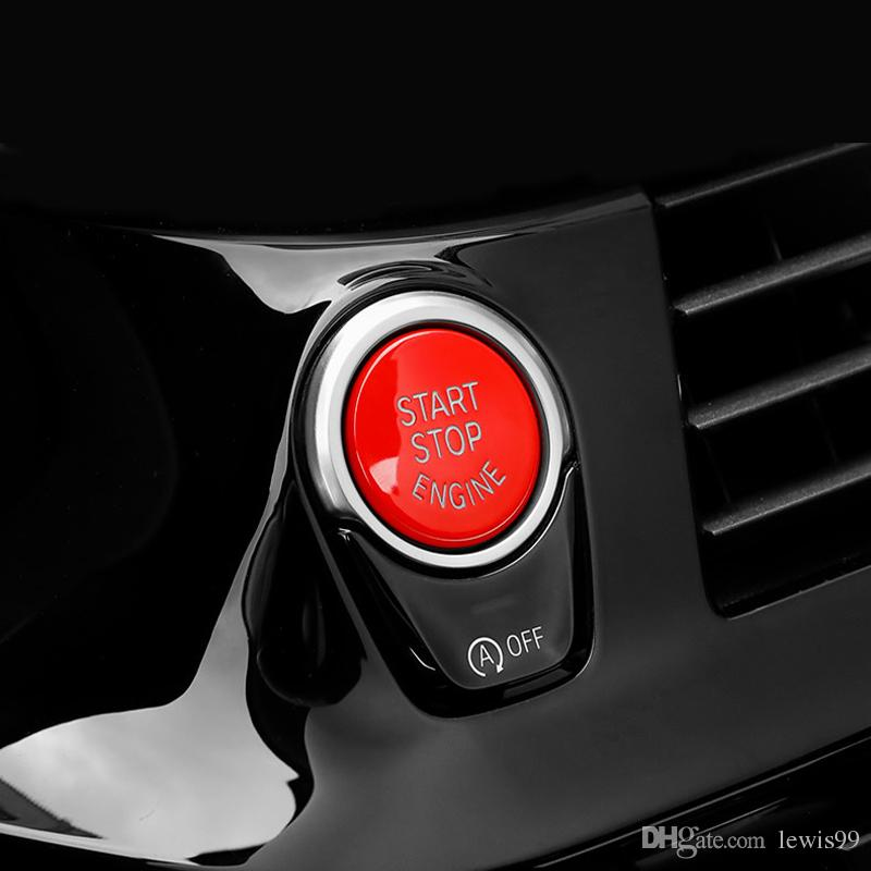 Car styling ENGINE START STOP switch button replace cover for BMW F chassis Cars 1 2 3 4 5 7 Series X1 X3 X4 X5 X6 F20 F21 F30 F34 F10 F15