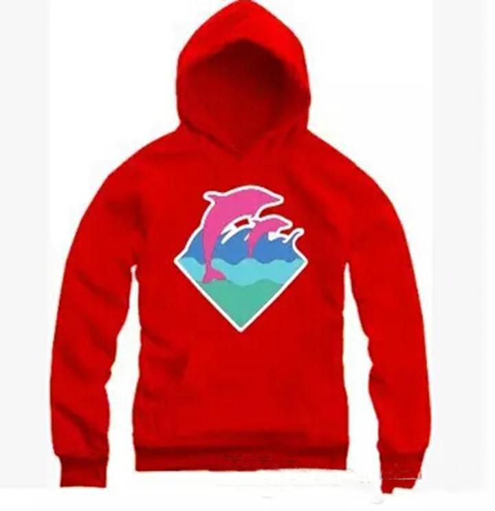 Новый Осень Зима мужская мода одежда Дельфин толстовки Свитер для мужчин хип-хоп спортивная одежда Бесплатная доставка M-4XL