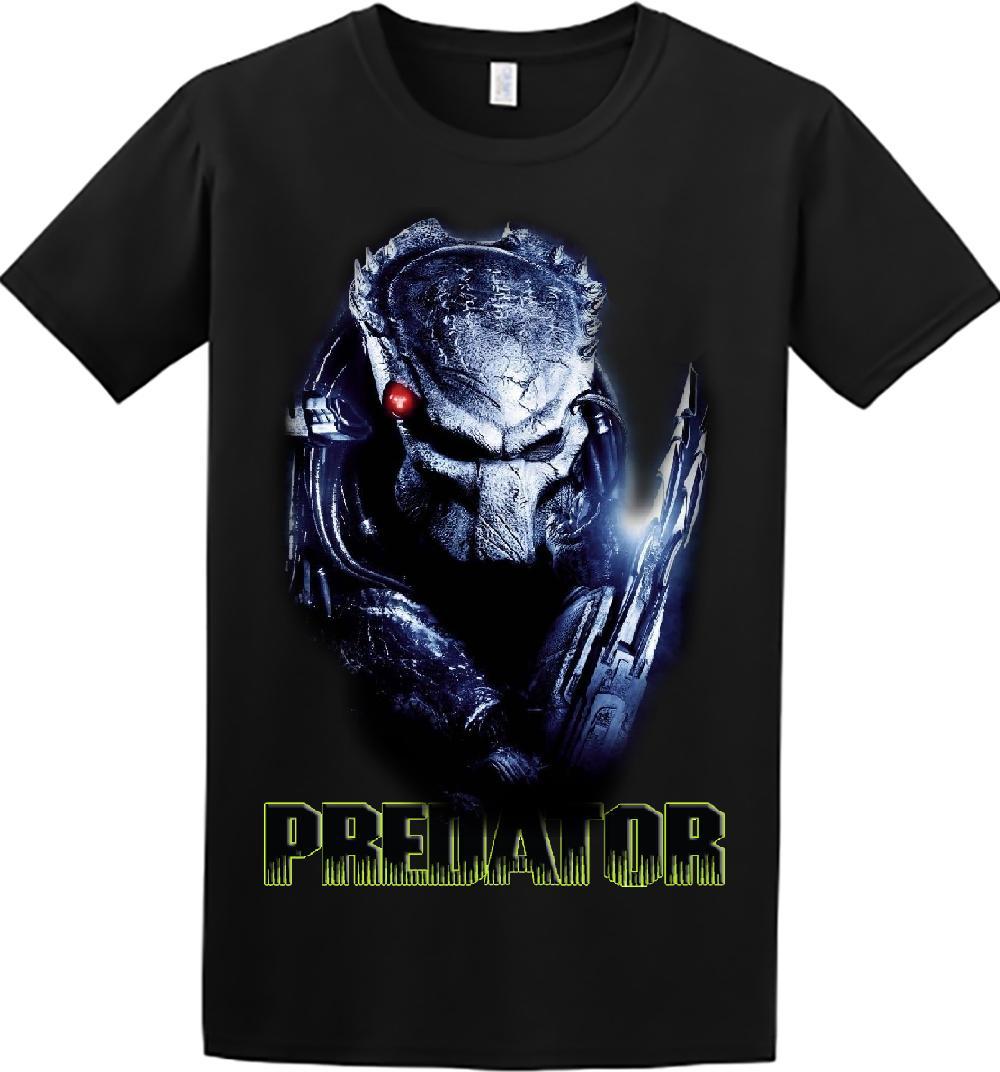f9d4bf2ab Predator Movie Alien Men Women Graphic Tee Shirts Design Custom Printing  2018 Brand T shirt Homme Tees
