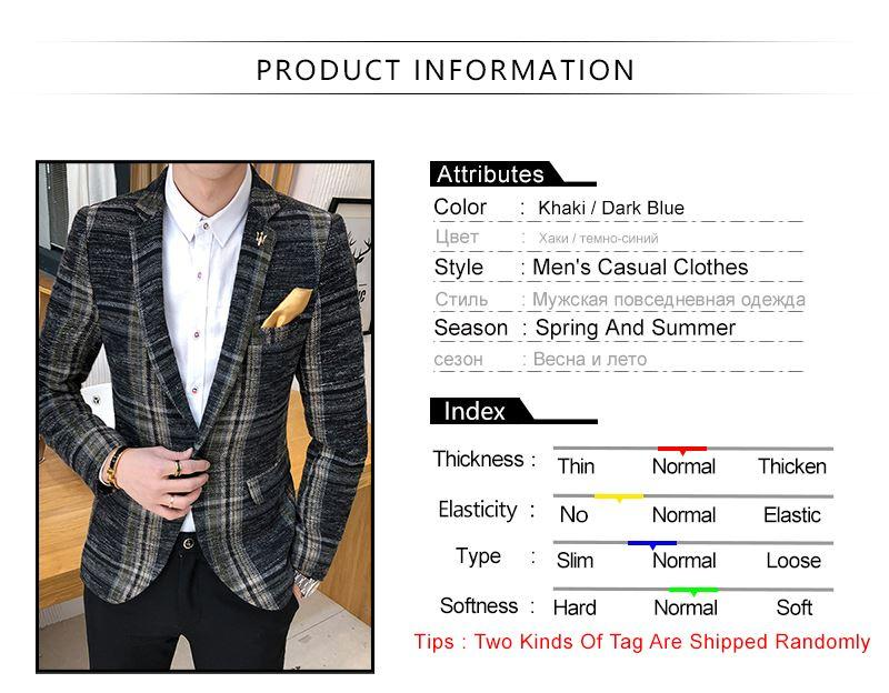 Suit Collar Men Jacket (2)