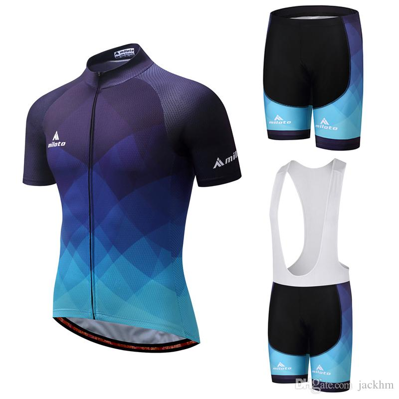 NEW fietskleding wielrennen zomer heren conjunto Ciclismo jersey Bib Shorts bicicleta vestuário Maillot Ropa ciclismo Sportswear conjunto de ciclismo