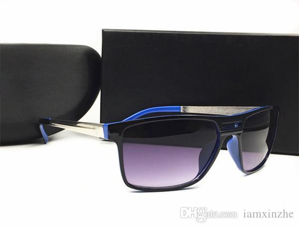 Männer Schutz Sonnenbrillen Verkauf für Männer Schatten UV400 Sommer Sonnenbrille Sport Gläser Sun New Hot Marke Lhveo
