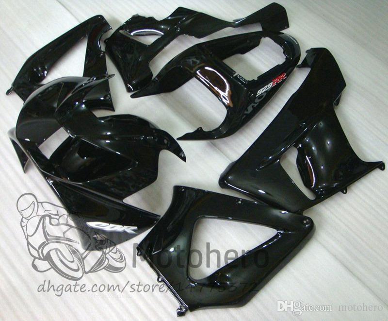 High Quality ABS Plastic Fit For Honda CBR 929 900 RR 929RR 00 01 CBR900RR 2000 2001 Motorcycle Fairing Kit Black Bodywork